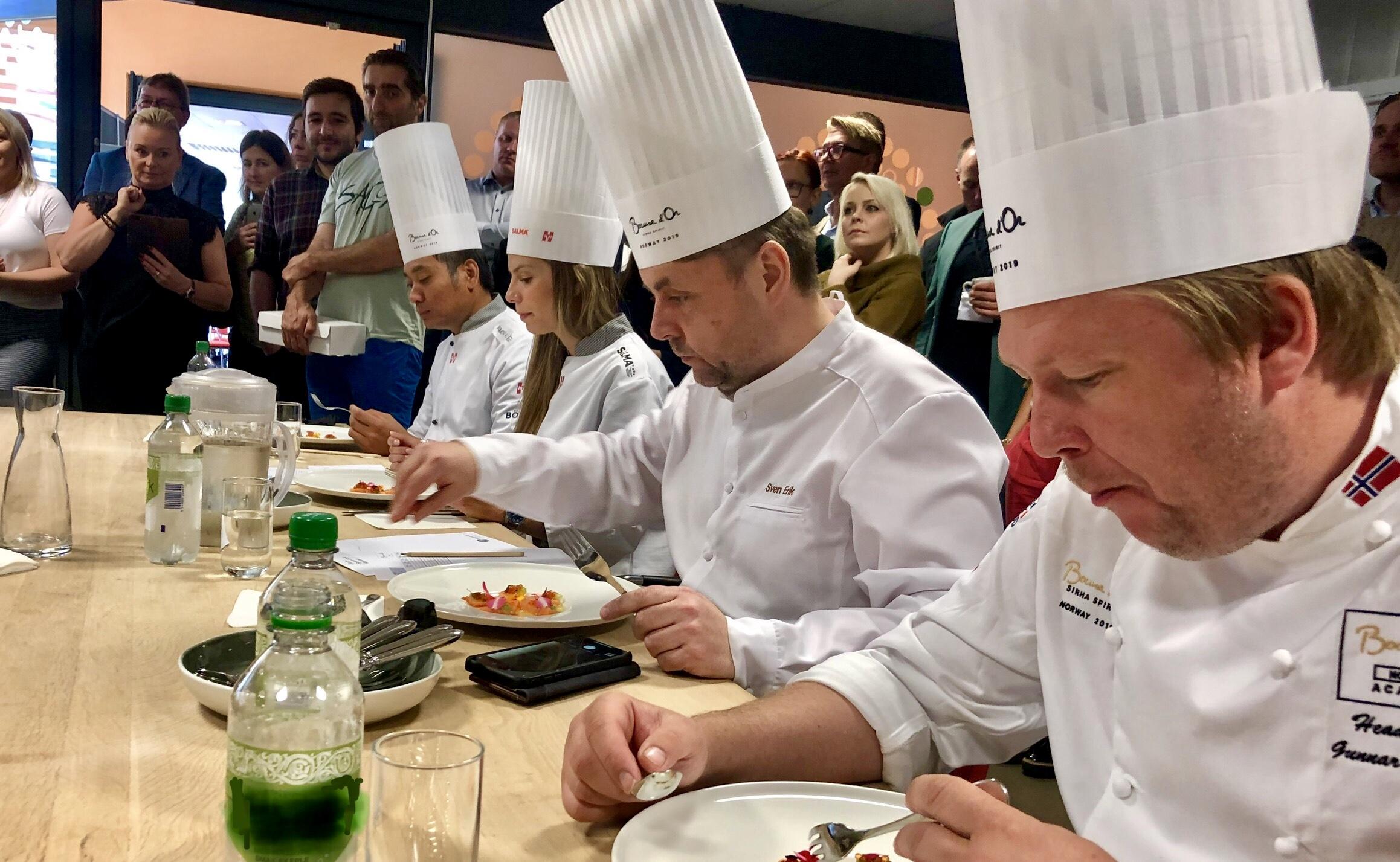 Konkurranser for kokker 201
