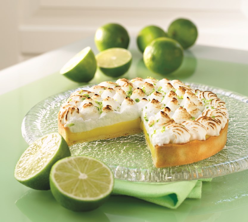 key lime pie med marengs