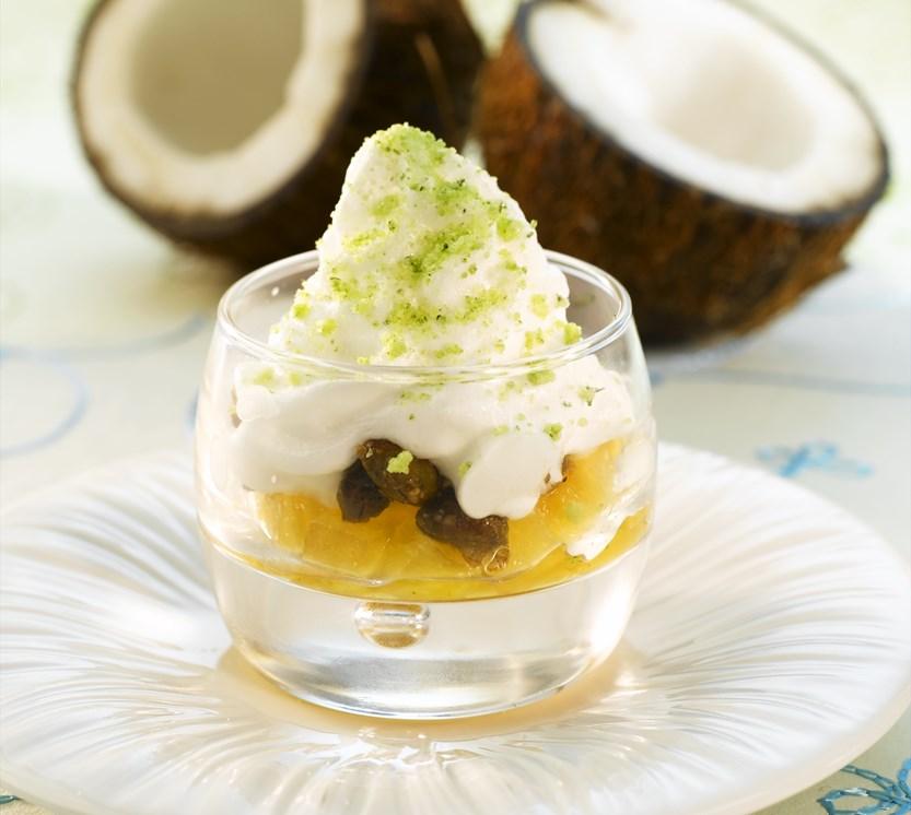 ananas dessert oppskrift